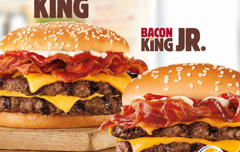 Burger King lanza sus nuevas hamburguesas Bacon KIng y Bacon King Jr.