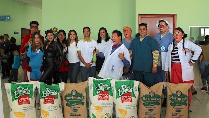 Global Alimentos brinda apoyo alimenticio a pacientes del Hospital Bloom