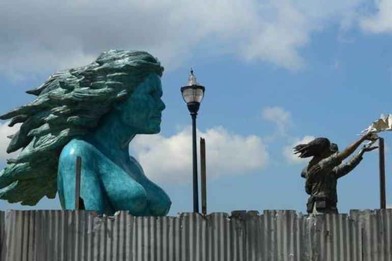 """Desde """"Mater Civis"""" hasta """"La Michi"""", el Monumento a la Reconciliación que genera discordia - Sucesos - El Salvador Times"""