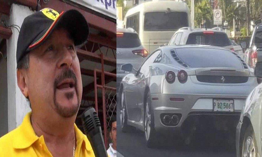 """Descubren en Honduras un Ferrari de """"Mecafé"""" - Internacional"""