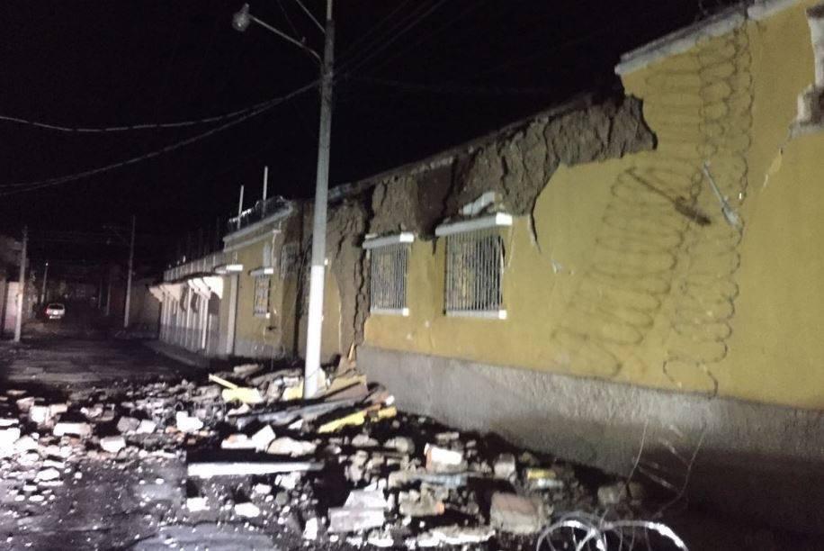 Fuerte Sismo En Guatemala Dejo Dos Muertos Y Casas Danadas