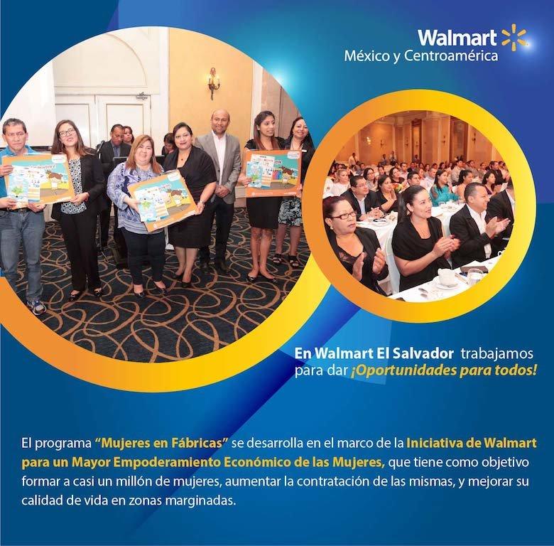 Iniciativa de Walmart empodera a las mujeres salvadoreñas - Negocios ...