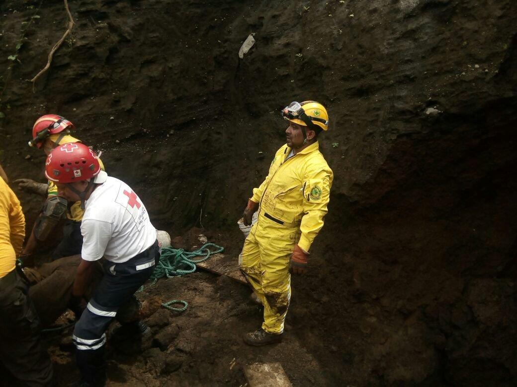 Trabajador muere soterrado en construcción en la urbanización Santa ...