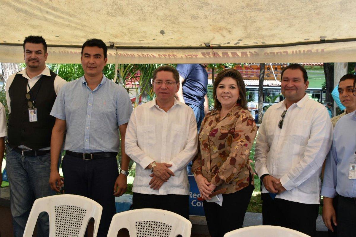 El fiscal Douglas Meléndez durante un evento en San Miguel. Foto: Fiscalía General de la República