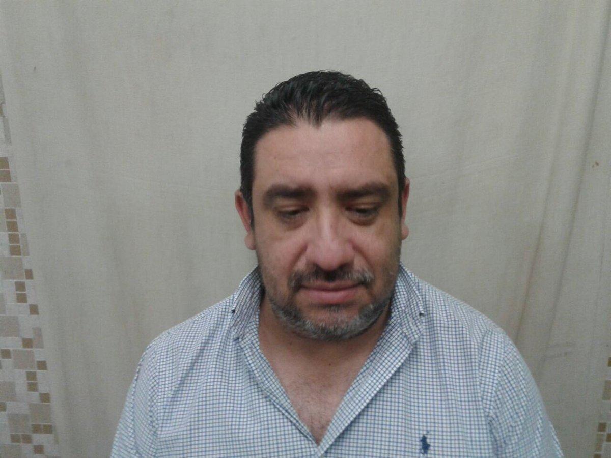 Esta es la imagen de Jorge Hernández tras su captura. Foto: PNC