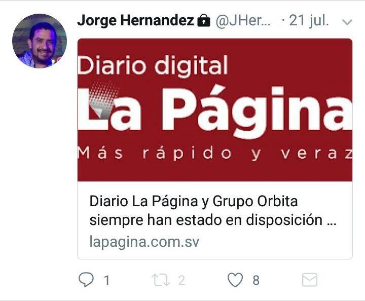 Jorge hernndez tuitea desde prisin judiciales diario digital jorge tw4 fandeluxe Images