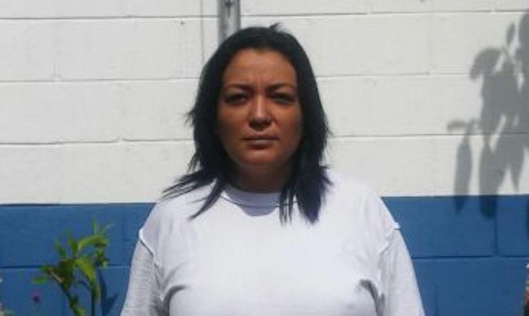"""Esmeralda Aravel Flores Acosta, la cabecilla de """"Las Viudas Negras"""" fue arrestada la semana pasada."""