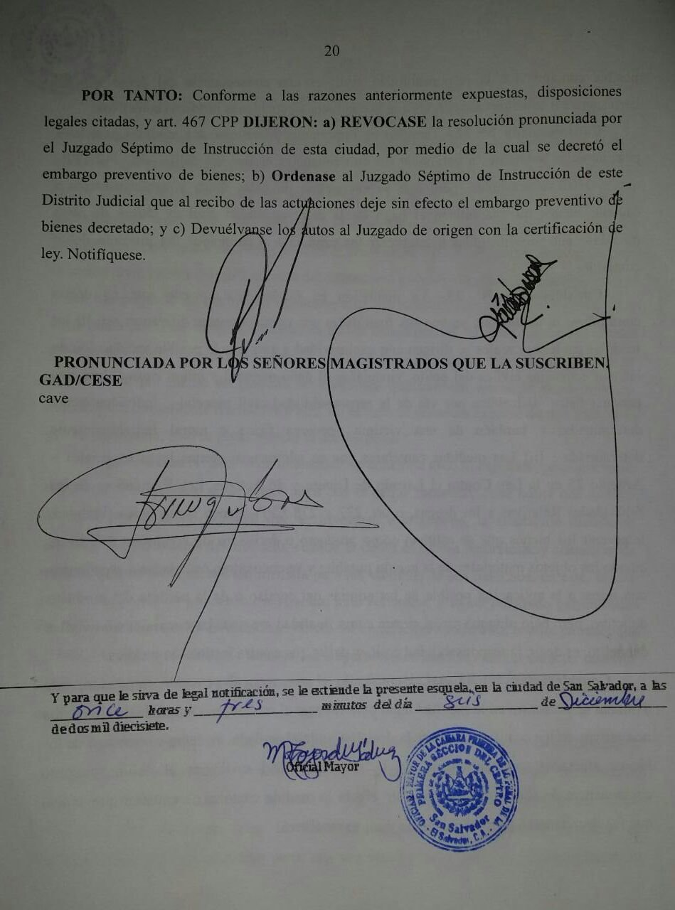 documento Saca
