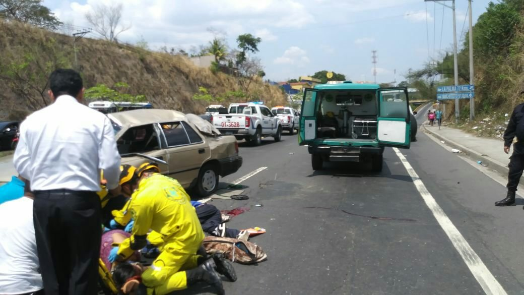 Accidente en Apopa
