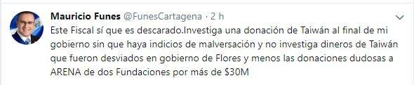 mauricio funes tuit