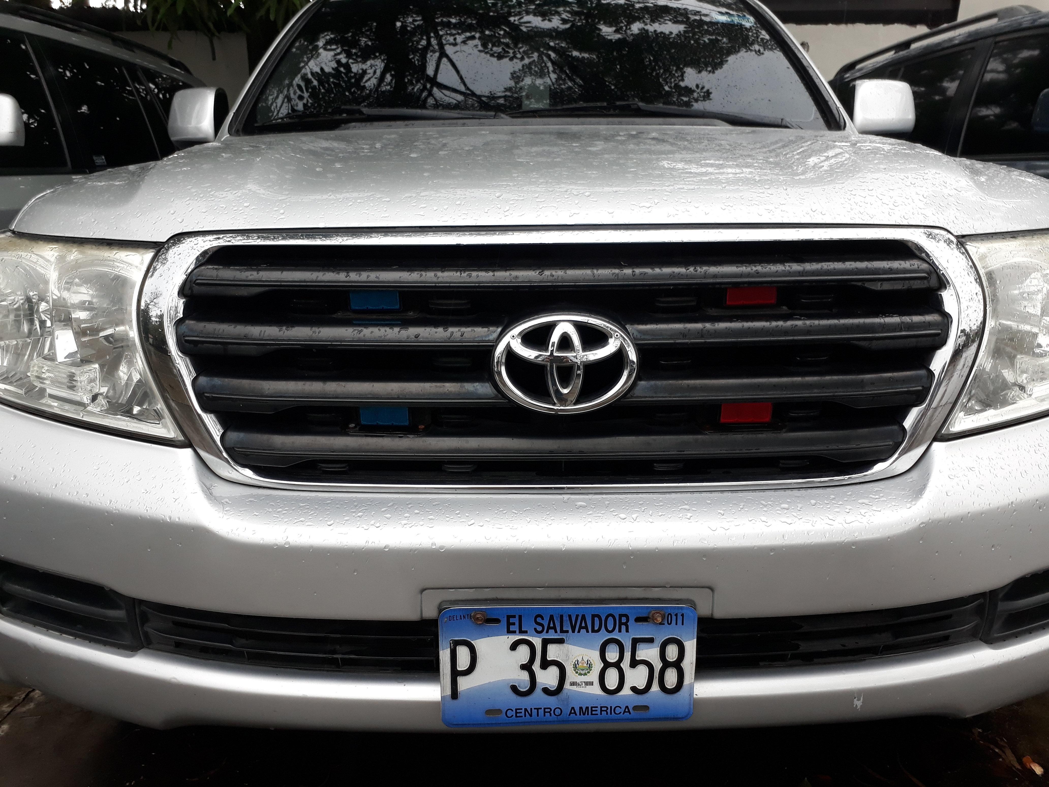 Camionta presidente Asamblea