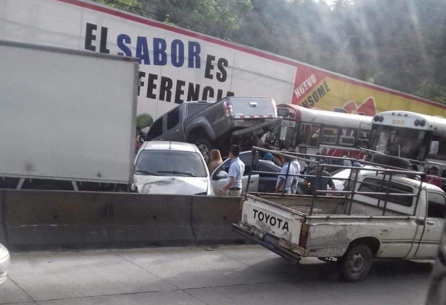 Los Chorros vehículos