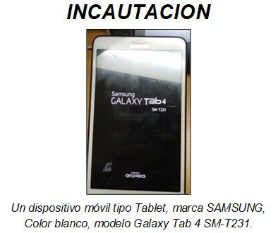 Tablet del ecuatoriano