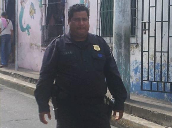 El agente Romero Arias siempre estaba dispuesto a servir a la sociedad. Foto cortesía de la PNC.