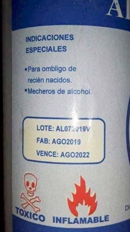 Alcohol adulterado San Pedro Nonualco