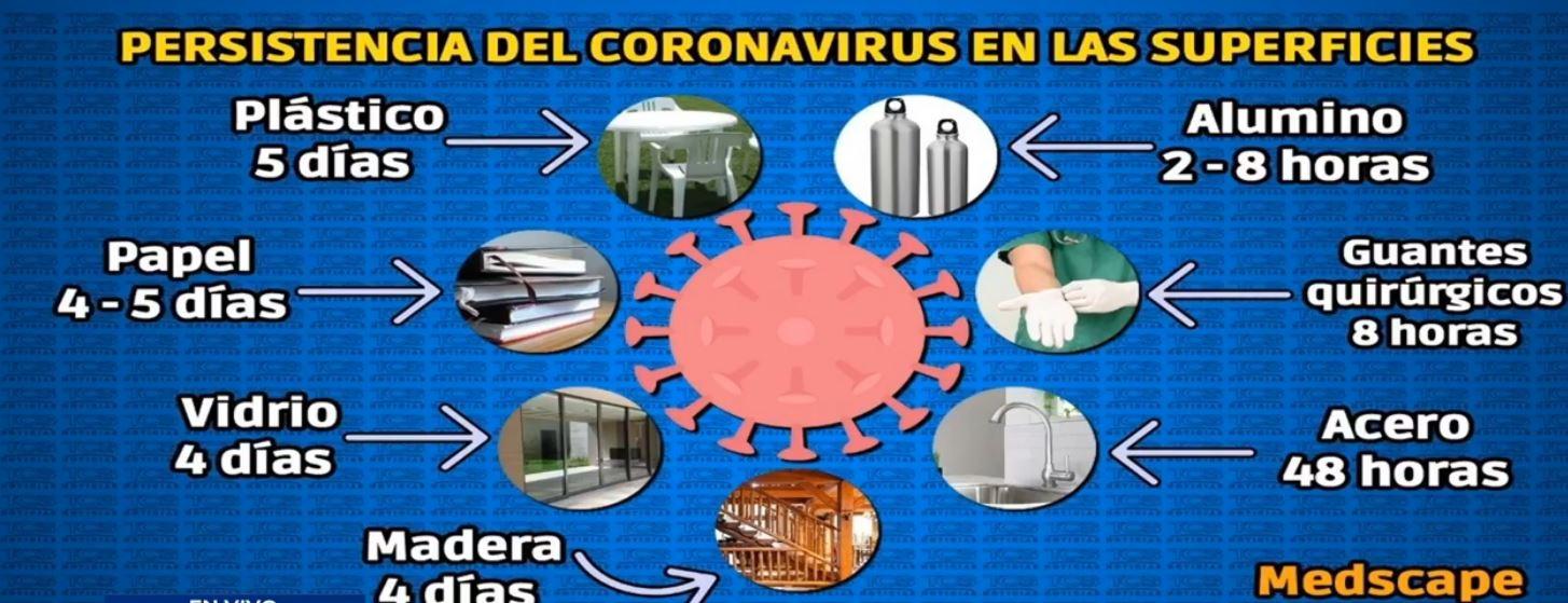 Persistencia coronavirus