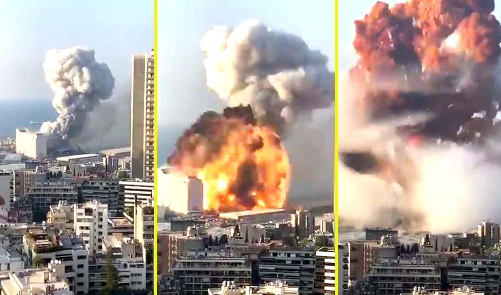 VIDEO: Más de 60 muertos y 3 mil heridos en la colosal explosión de Beirut