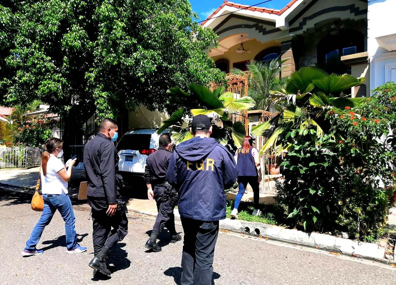 Wilfredo Antonio Reyes Martínez por tráfico ilegal de personas Foto tomada de la Fiscalía 2